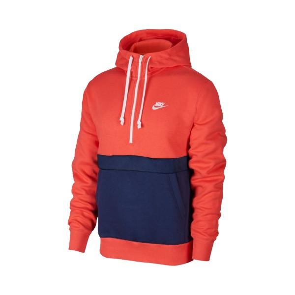 Nike Sportswear Club Fleece Hoodie Ember Glow