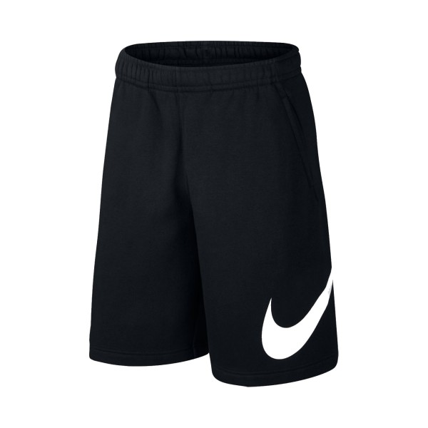 Nike Sportswear Club Swoosh Shorts Black