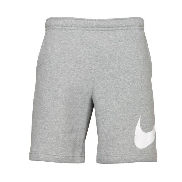 Nike Sportswear Club Swoosh Shorts Grey