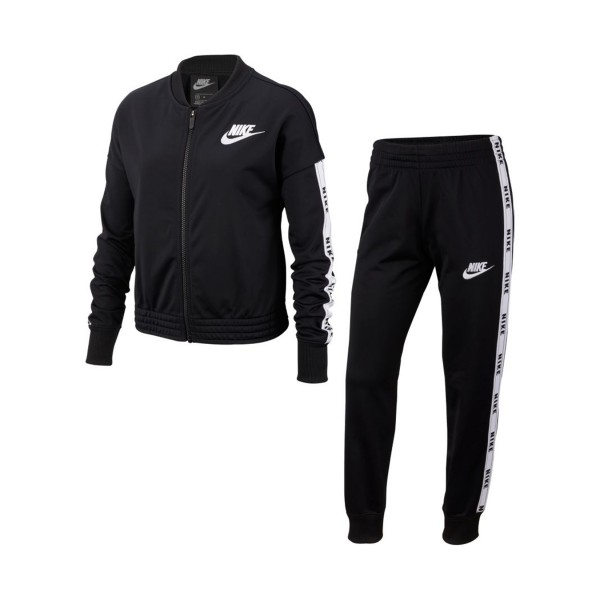Nike Sportswear Big Kids Tracksuit Black