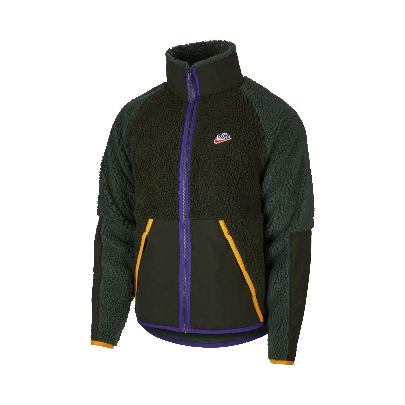 Nike Sportswear Sherpa Fleece Jacket Green