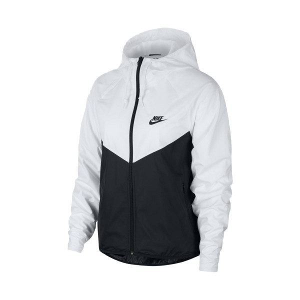 Nike Sportswear Windrunner Jacket Black - White