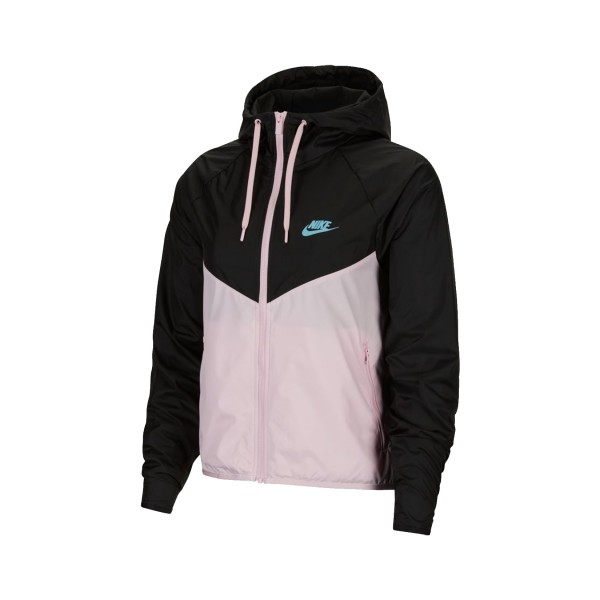 Nike Sportswear Windrunner Jacket Black - Pink