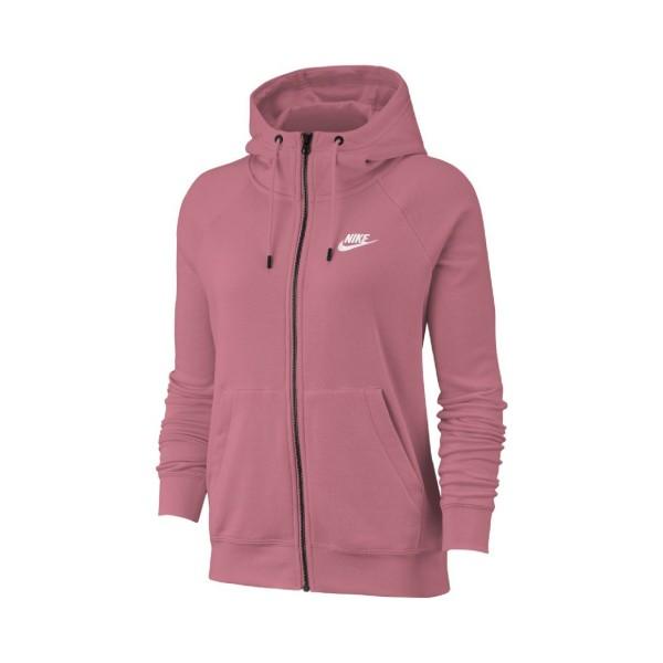 Nike Sportswear Essential Full-Zip Fleece Hoodie Desert Berry