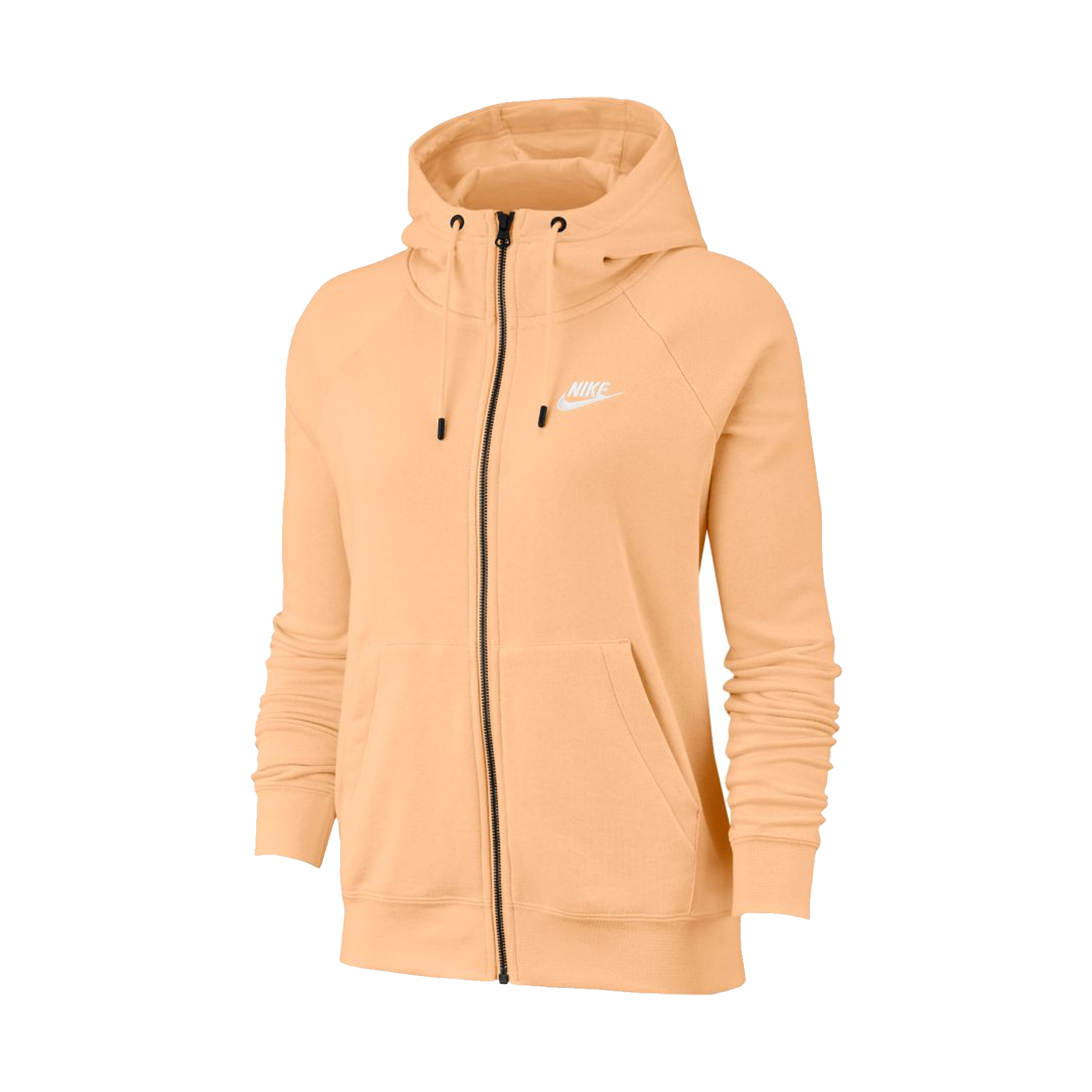 Nike Sportswear Essential Full-Zip Fleece Hoodie Peach