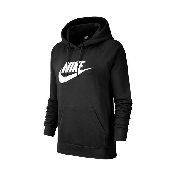 Nike Sportswear Essential Fleece Crew Hoodie Black