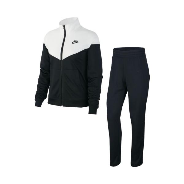 Nike Sportswear Tracksuit Black - White