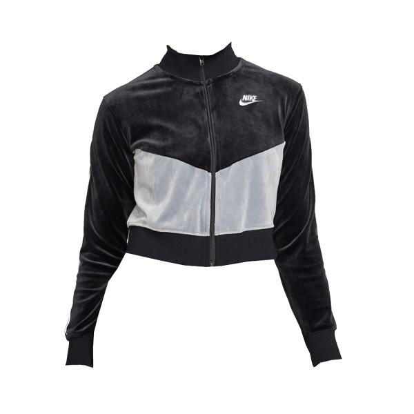 Nike Sportswear Heritage Crop Black