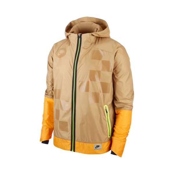 Nike Shield Flash Running Jacket Kumquat