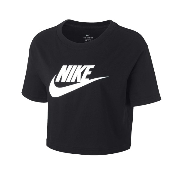 Nike Sportswear Essential Crop Top Black