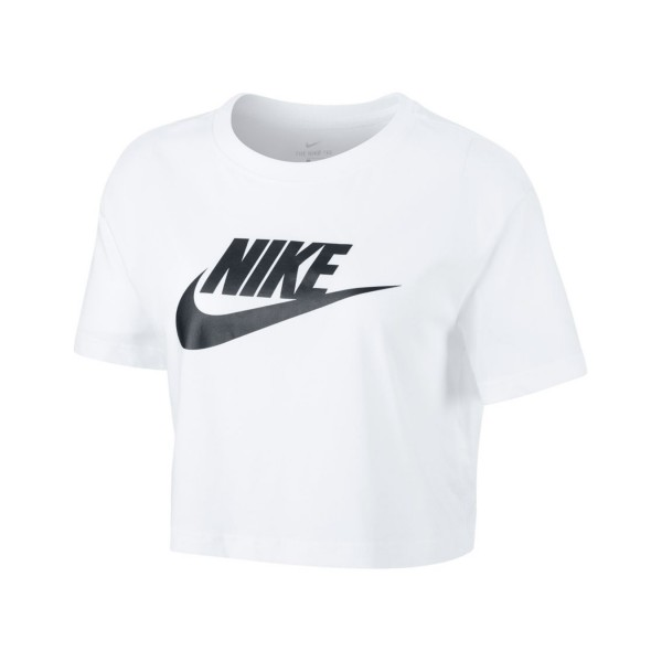 Nike Sportswear Essential Crop Top White