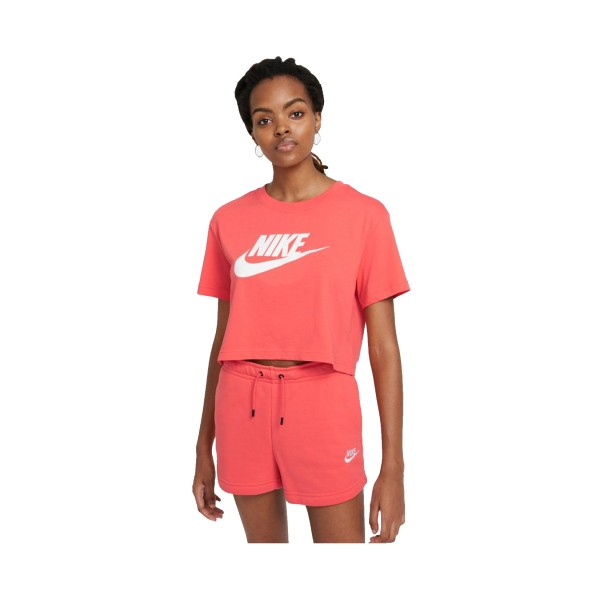 Nike Sportswear Essential Crop Top Coral