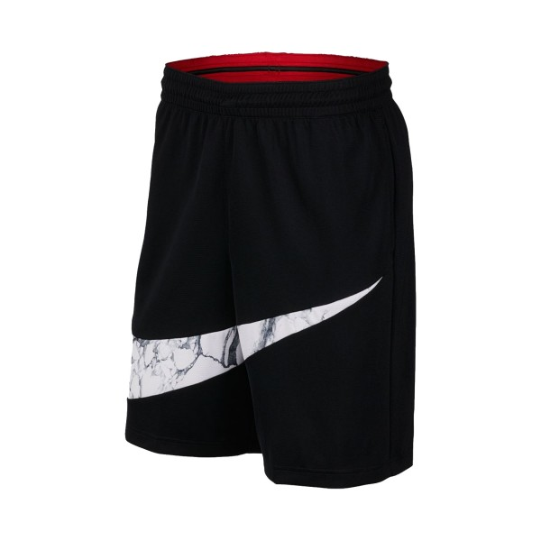Nike Dri-FIT Heritage Marble Shorts Black