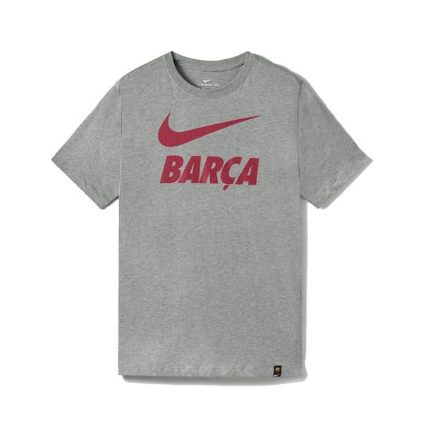 Nike Soccer FC Barcelona Tee Grey