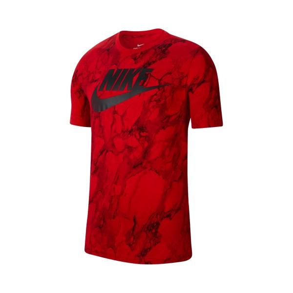 Nike Sportswear Swoosh T-Shirt Red