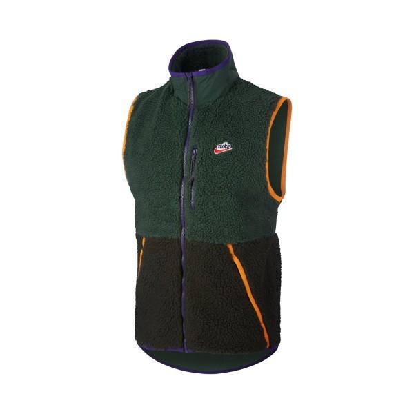 Nike Sportswear Sherpa Fleece Vest Green