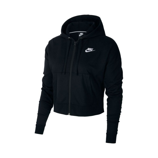 Nike Sportswear Dry Fleece Get Fit Full Zip Black