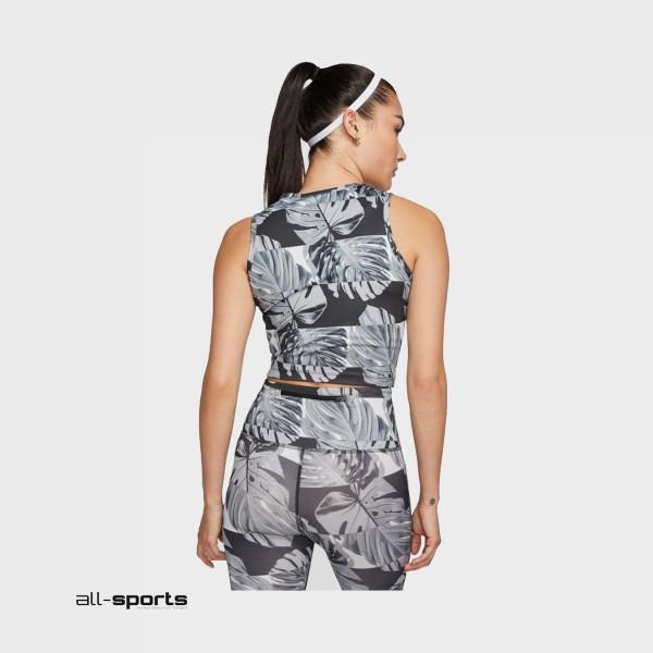 Nike Sportswear Fast No-Sleeve Flowers  Black - Grey