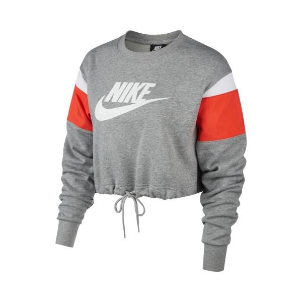 Nike Sportswear Heritage Crop Grey