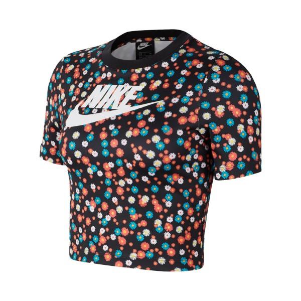 Nike Sportswear Essential Crop Top SS Floral