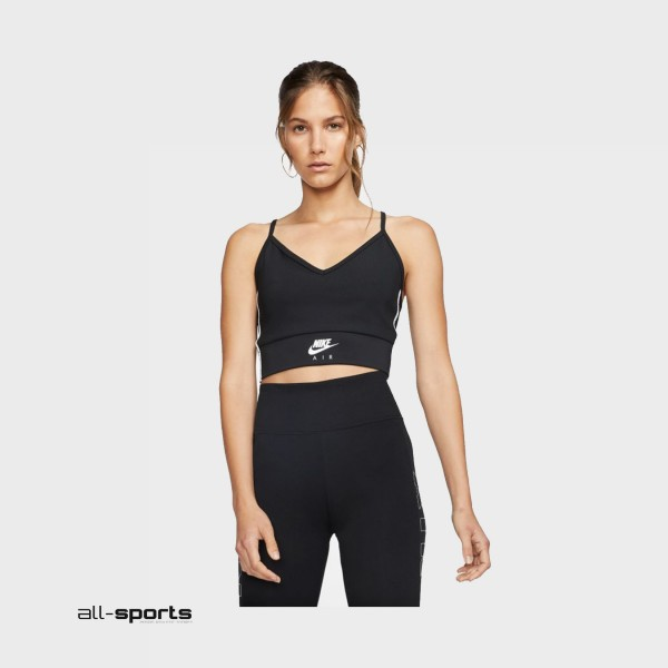 Nike Sportswear Heritage Crop Tank Black