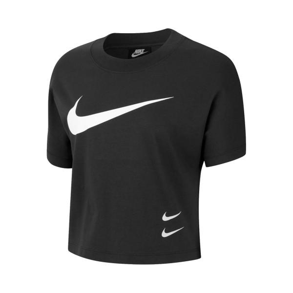 Nike Sportswear Swoosh Short-Sleeve Black