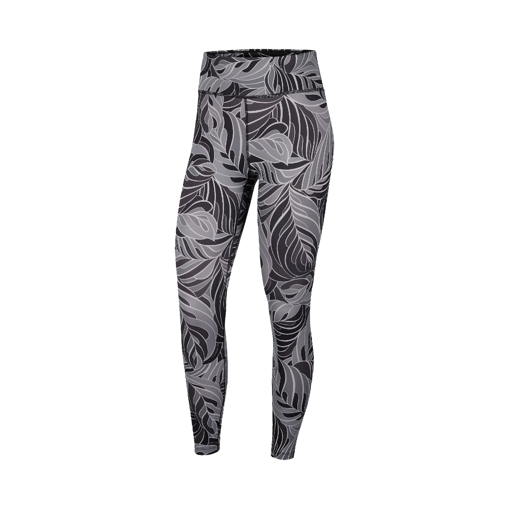 Nike One Tight Printed Mid-Rise 7/8 Leggings Grey
