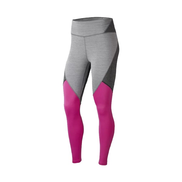 Nike One 7/8 Tight Novelty Grey - Pink