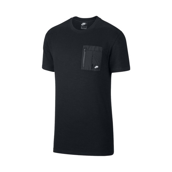 Nike Sportswear Short Sleeve Black