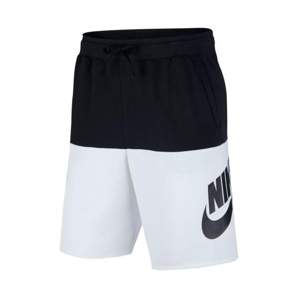 Nike Sportswear Shorts Black - White
