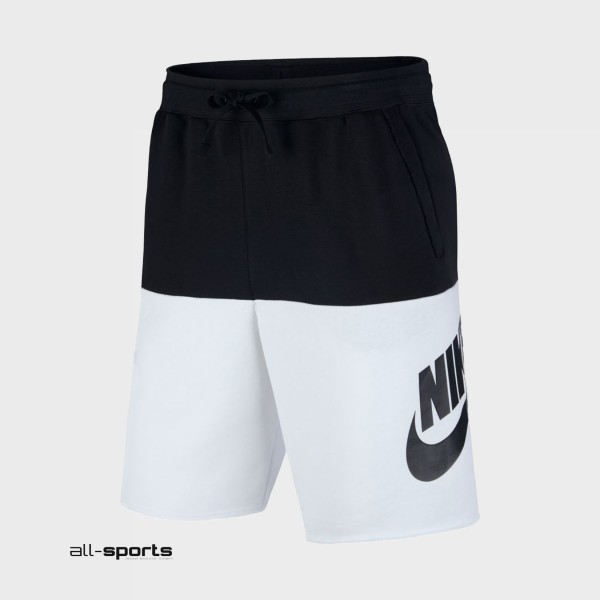 Nike Sportswear Shorts Black - White