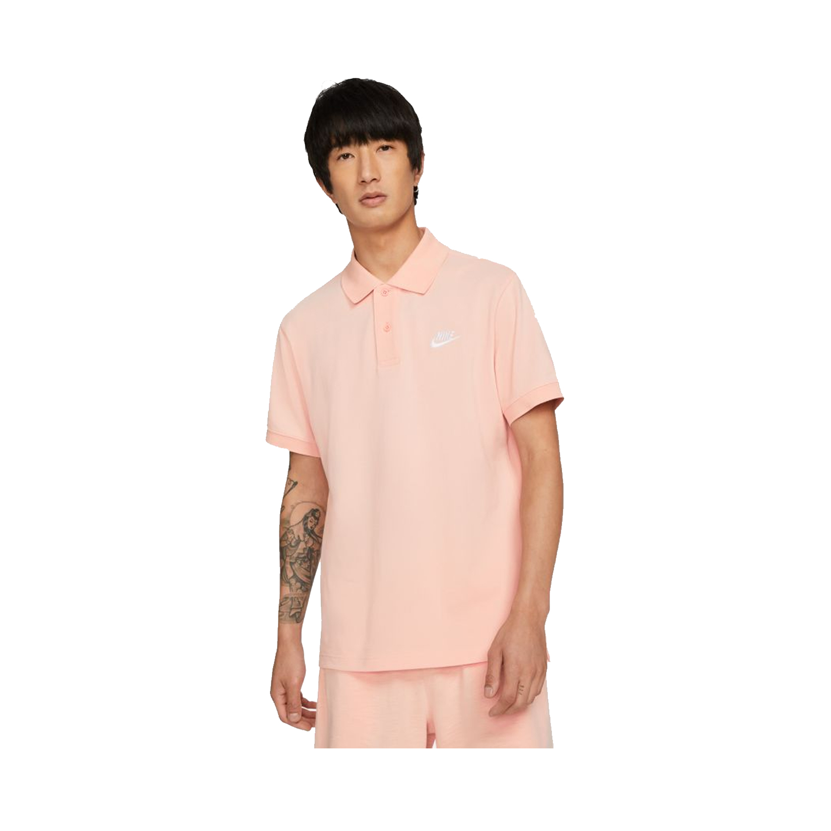 Nike Sportswear Polo M Tee Peach