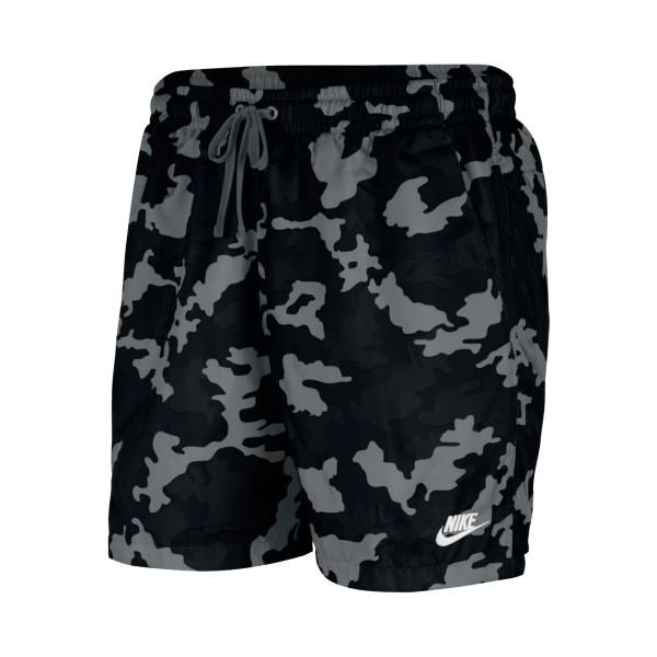 Nike Sportswear Woven Camo Black
