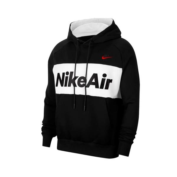 Nike Sportswear Air Hoodie Black - White