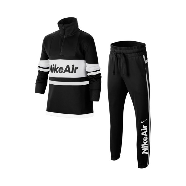 Nike Air Tracksuit Black - White