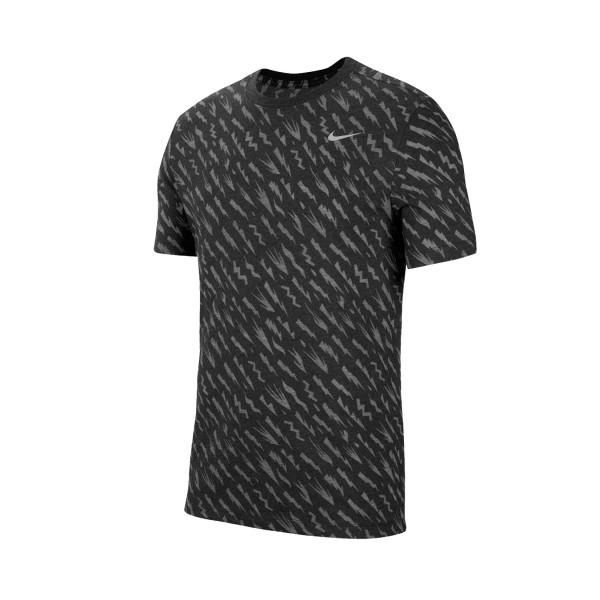 Nike Dri Fit Windrunner Burnout Black - Grey