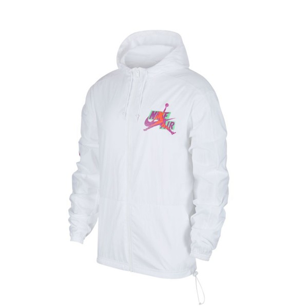 Jordan Jumpman Classics Off Court Windbreaker Jacket White