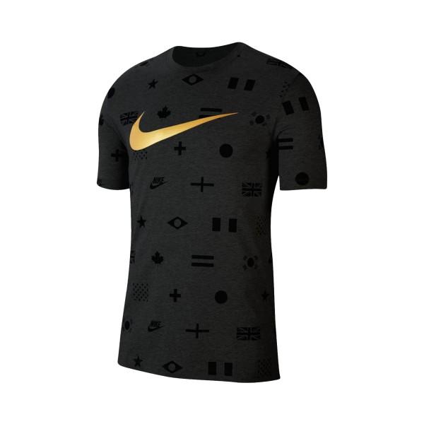 Nike Sportswear Printed Tee Black