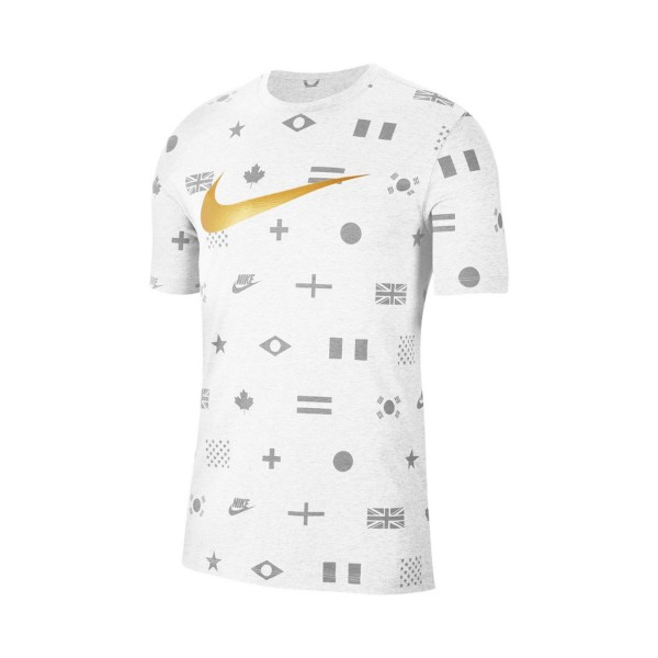 Nike Sportswear Printed Tee White