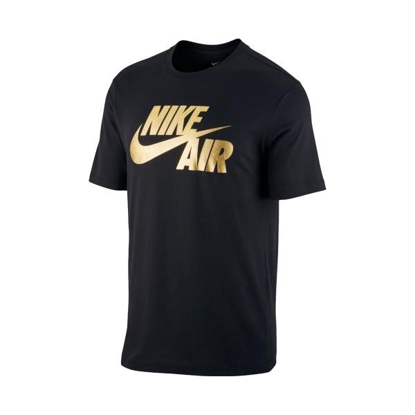 Nike Sportswear Preheat T-Shirt Black - Gold