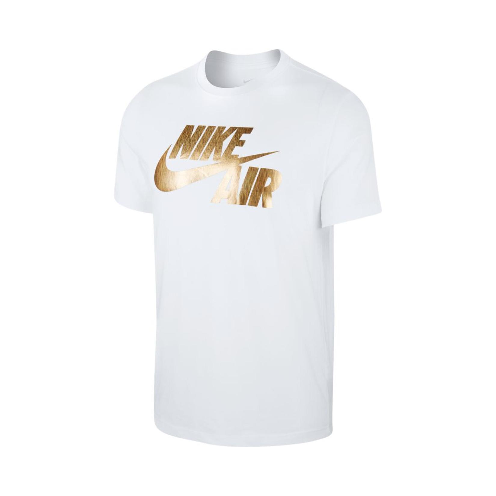 Nike Sportswear Preheat T-Shirt White - Gold