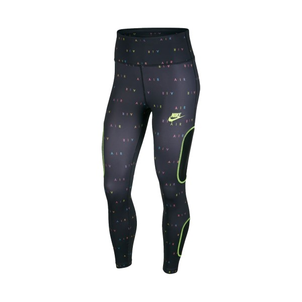 Nike Air 7/8 Running Tights Logos Black