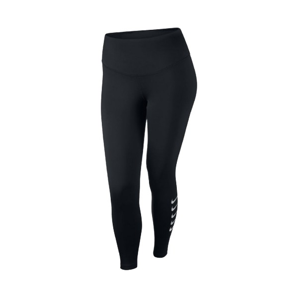 Nike Swoosh Run 7/8 Running Tights Black