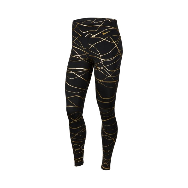 Nike Icon Clash Fast Tight Black - Gold