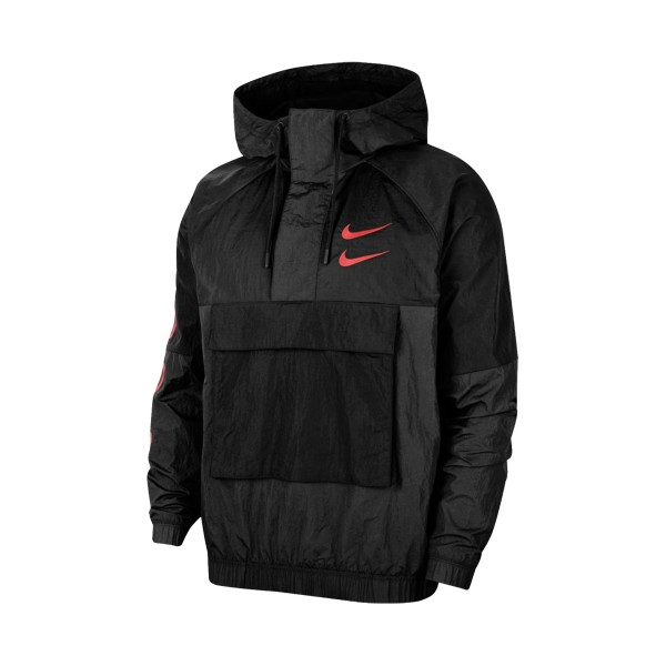 Nike Sportswear Swoosh Windstopper Jacket Black