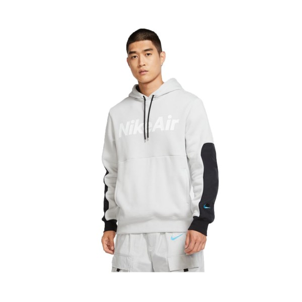 Nike Sportswear Air Hoodie Long Sleeves Grey