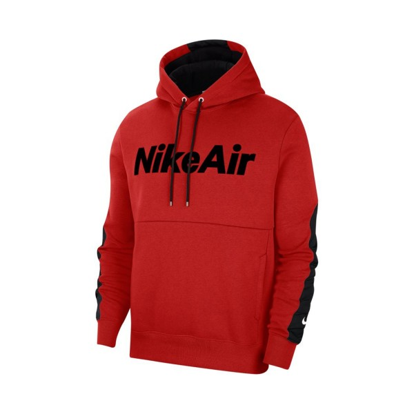 Nike Sportswear Air Hoodie Long Sleeves Red