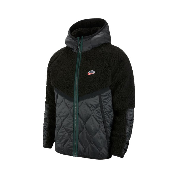 Nike Sportswear Heritage Fleece Sherpa Black