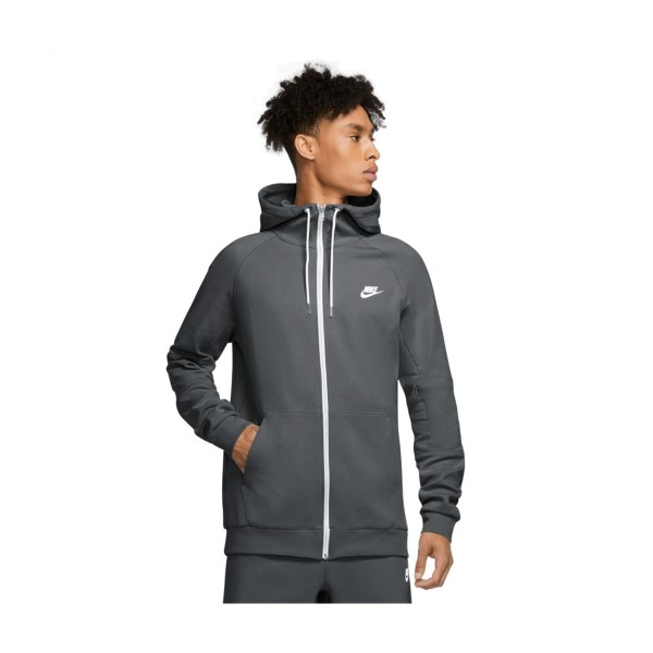 Nike Sportswear Full-Zip Fleece Grey