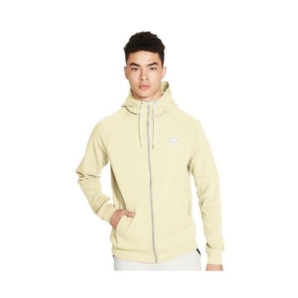 Nike Sportswear Full-Zip Fleece Cream